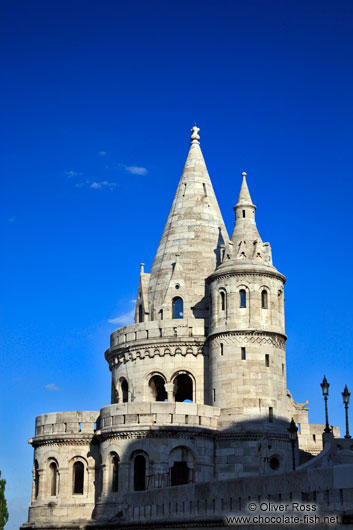 Fisherman´s Bastion ín the Budapest castle