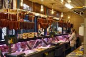 Travel photography:Budapest market butcher , Hungary