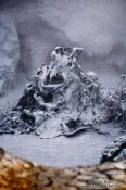 Travel photography:Boiling mud in the geothermal area at Hverarönd, Iceland