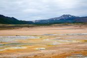 Travel photography:The geothermal area at Hverarönd near Mývatn, Iceland