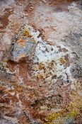 Travel photography:Sulfur crystals in the geothermal area at Hverarönd near Mývatn, Iceland