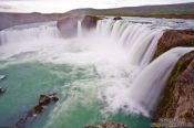 Travel photography:The Goðafoss waterfall, Iceland