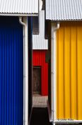 Travel photography:Colourful houses in Siglufjörður, Iceland