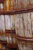 Travel photography:Barrels outside the Siglufjörður herring museum, Iceland