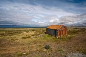 Travel photography:Abandoned shed on Skagi peninsula, Iceland