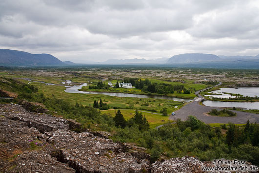 The ridge dividing the Eurasian from the North American plate