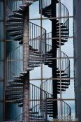 Travel photography:Staircase at the Reykjavik Perlan, Iceland