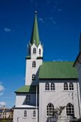 Travel photography:Reykjavik church, Iceland
