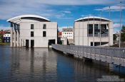 Travel photography:Reykjavik city hall, Iceland