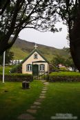Travel photography:Hofskirkja church, Iceland