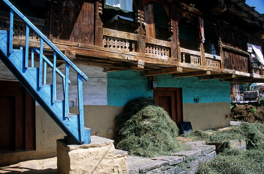 Traditional house in Manali