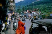 Travel photography:Manali street, India
