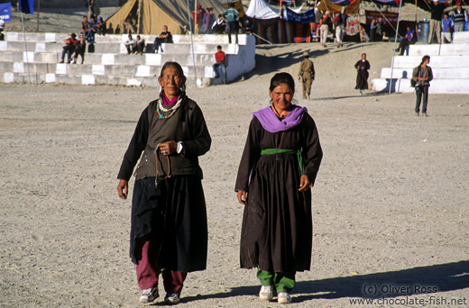 Two women in Leh