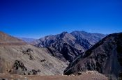Travel photography:Mountains between Leh and Drass, India