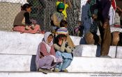 Travel photography:Spectators at a Polo match in Leh, India