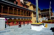 Travel photography:Thiksey Gompa (Buddhist monastery), India
