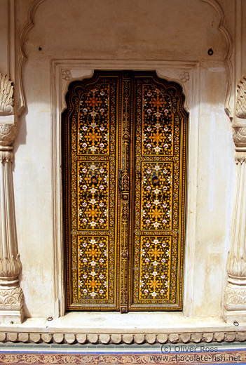 Door at the Junagarh Fort in Bikaner