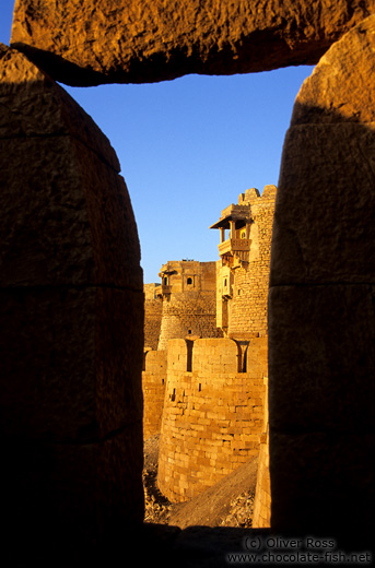 Jaisalmer Fort in the evening light