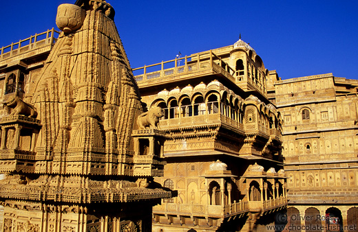 Jain Temple and Havelis in Jaisalmer