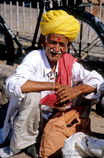 Man at Jodhpur market