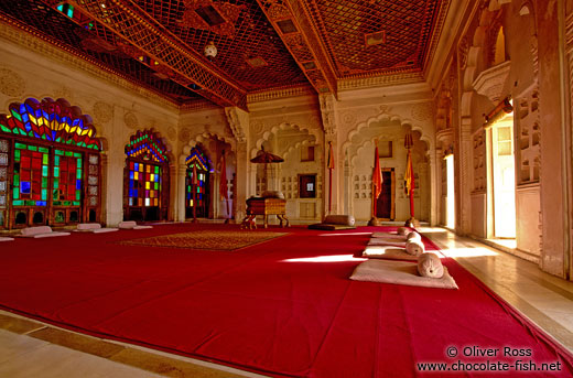 Room inside Jodhpur Castle