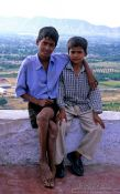 Travel photography:Two boys in Pushkar, India