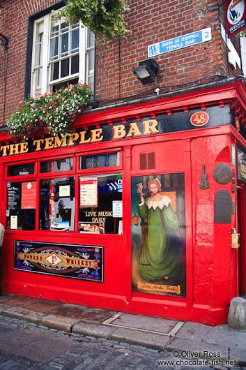Dublin´s famous Temple Bar