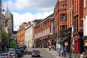 Travel photography:Dublin street, Ireland