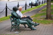 Travel photography:Having a rest in Dublin , Ireland