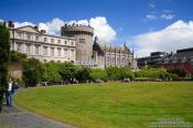 Travel photography:Dublin Castle court card, Ireland