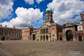 Travel photography:Dublin Castle and square, Ireland