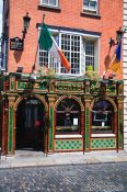 Travel photography:Pub in Dublin´s Temple Bar district, Ireland