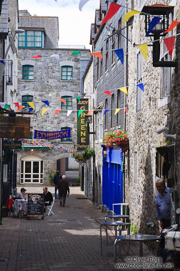 Old street in Galway
