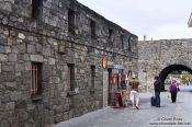 Travel photography:The Spanish Arch in Galway´s old city , Ireland