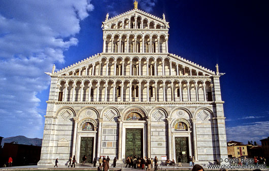 The Duomo (cathedral) in Pisa