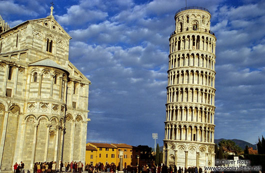 Duomo and Leaning Tower in Pisa