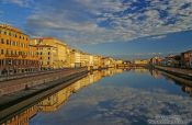 Travel photography:River Arno in Florence, Italy