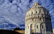 Travel photography:Baptistry in Pisa, Italy