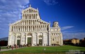 Travel photography:The Duomo (cathedral) in Pisa, Italy