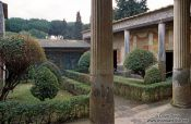 Travel photography:House in Pompeii, Italy