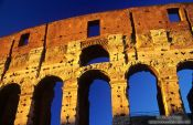 Travel photography:The Coliseum in Rome, Italy