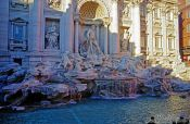 Travel photography:Trevi Fountain in Rome, Italy