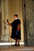 Travel photography:Swiss Guard in the Vatican, Vatican