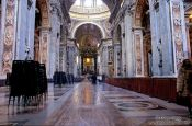 Travel photography:Inside St. Peters Cathedral, Vatican