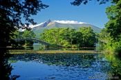 Travel photography:Lake Onuma with Mt Komagatake, Japan
