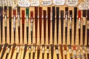 Travel photography:Chopsticks for sale in Tokyo Asakusa, Japan