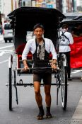 Travel photography:Ecological transport in Tokyo Asakusa, Japan