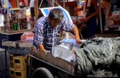 Travel photography:Selling ice to the market stalls in Tokyo, Japan