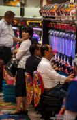 Travel photography:Pachinko players in Tokyo, Japan