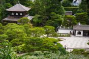 Travel photography:Kyoto Ginkakuji Temple grounds, Japan